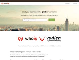 secure.whois.com.au screenshot