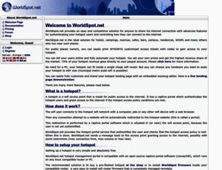 secure.worldspot.net screenshot
