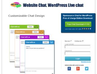 secure.wp-chat.com screenshot
