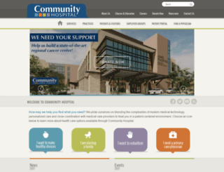 secure.yourcommunityhospital.com screenshot
