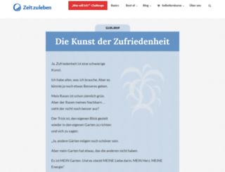 secure.zeitzuleben.de screenshot