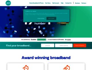 secure.zen.co.uk screenshot