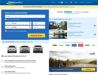 secure2.airportrentals.com screenshot