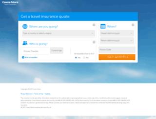 secure2.covermore.com.au screenshot