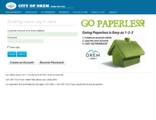 secure2.orem.org screenshot