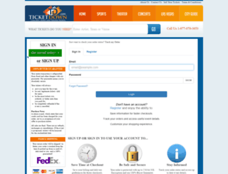 secure2.ticketdown.com screenshot