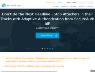 secureauth.gscadmin.com screenshot