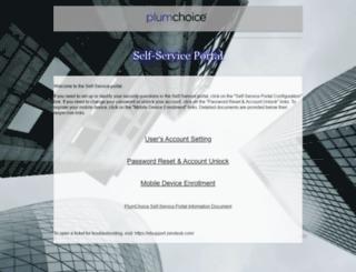 secureauth.plumchoice.com screenshot