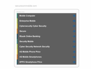 securecommobile.com screenshot