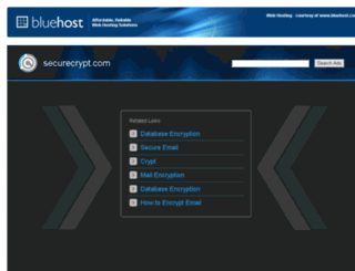 securecrypt.com screenshot