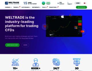 secured.weltrade.com screenshot