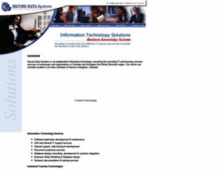 securedatasystems.net screenshot