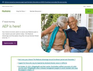 securedlogons.humanadental.com screenshot