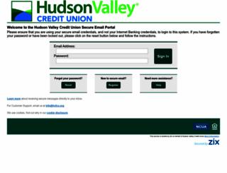 securedmail.hvfcu.org screenshot