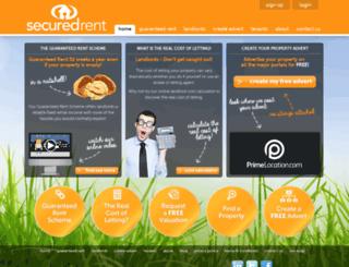 securedrent.com screenshot