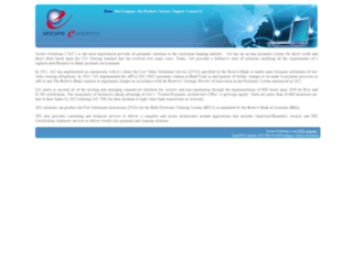 secureesolutions.com screenshot