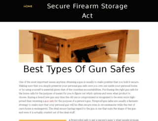 securefirearmstorageact.yolasite.com screenshot