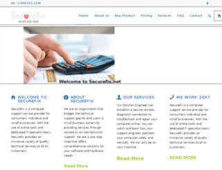 securefix.net screenshot