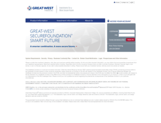 securefoundationsmartfuture.retirementpartner.com screenshot