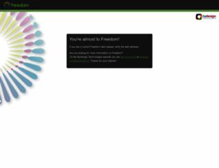 securefreedom.com screenshot