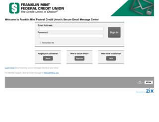 securemail-fmfcu.org screenshot