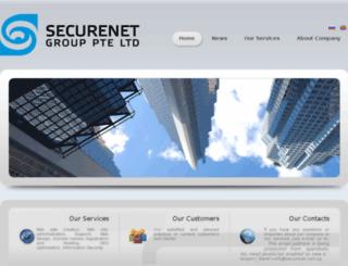 securenet.com.sg screenshot