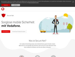 securenet.vodafone.de screenshot