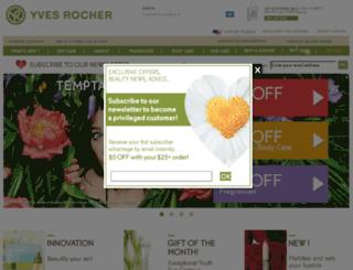 secureorder.yvesrocherusa.com screenshot