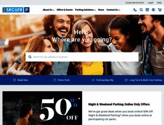 secureparking.com.au screenshot