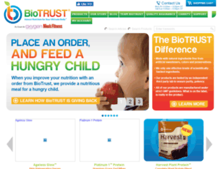 secureqsg.biotrust.com screenshot