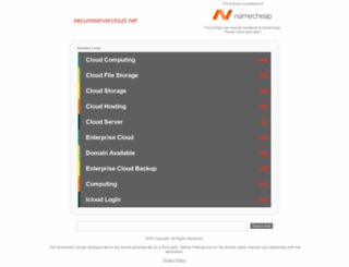secureservercloud.net screenshot