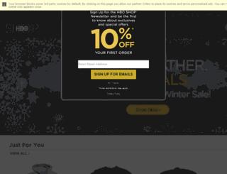 securestore.hbo.com screenshot