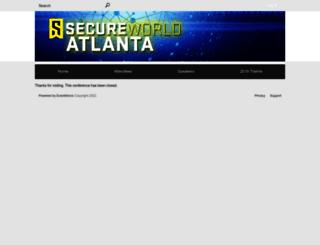 secureworldatlanta.zerista.com screenshot