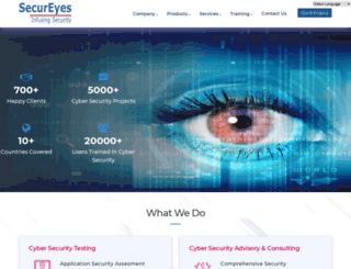 secureyes.net screenshot