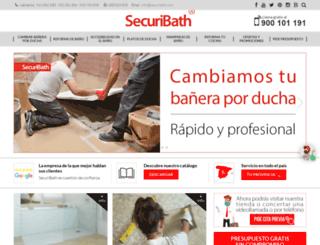 securibath.com screenshot