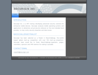 securigin.com screenshot