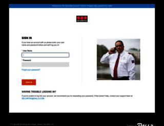 securitas.galls.com screenshot
