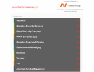 securitas101maximus.xyz screenshot