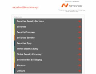 securitas266maximus.xyz screenshot