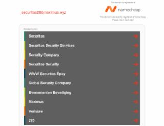 securitas285maximus.xyz screenshot