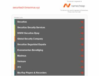 securitas313maximus.xyz screenshot