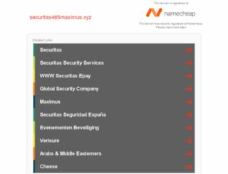 securitas465maximus.xyz screenshot