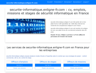 securite-informatique.enligne-fr.com screenshot