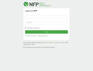 securities.nfp.com screenshot