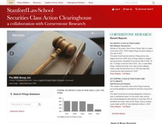 securities.stanford.edu screenshot