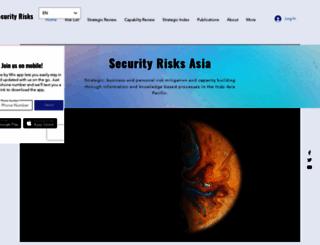 security-risks.com screenshot