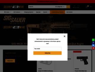 securityandmore.co.za screenshot