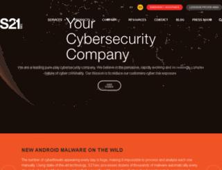 securityblog.s21sec.com screenshot