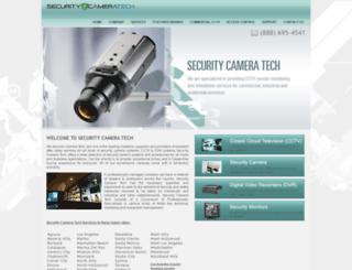 securitycameratech.com screenshot