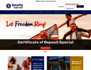 securitycu.org screenshot